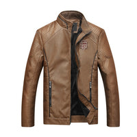 BOLUBAO 2018 New Men Leather Suede Jackets Men Autumn Faux Leather Male Motorcycle Biker Coats Mens Leather Bomber Jacket L-5XL