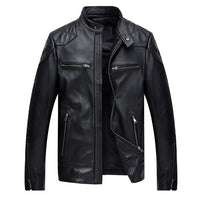 Free shipping.Brand classic style leather coat,popular men's genuine leather Jackets,slim motor biker jacket,cool quality sales