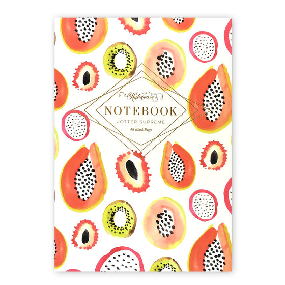 Antiquaria - Fruit Print Daily Jotter Notebook