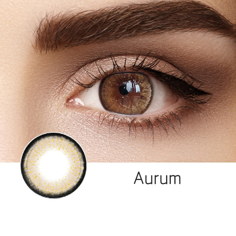 Aurum Brown (12 Month) Contact Lenses