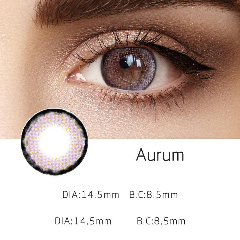 Aurum Violet (12 Month) Contact Lenses