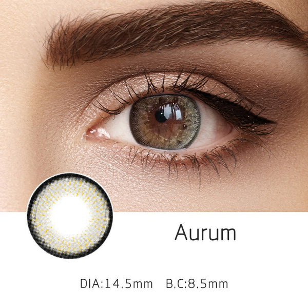 Aurum Grey (12 Month) Contact Lenses