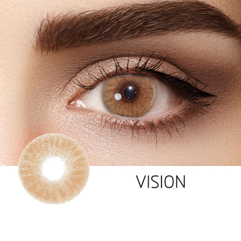 Vision Brown (12 Month) Contact Lenses