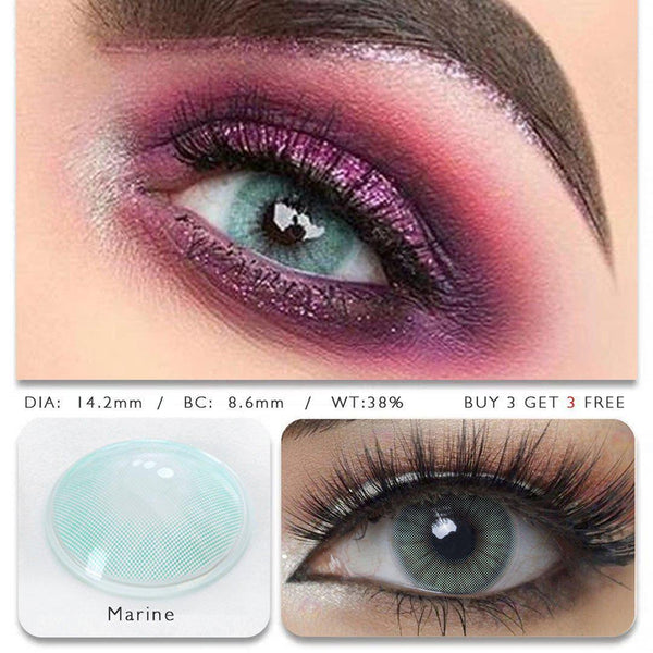 Hidrocor Marine (12 Month) Contact Lenses - StunningLens