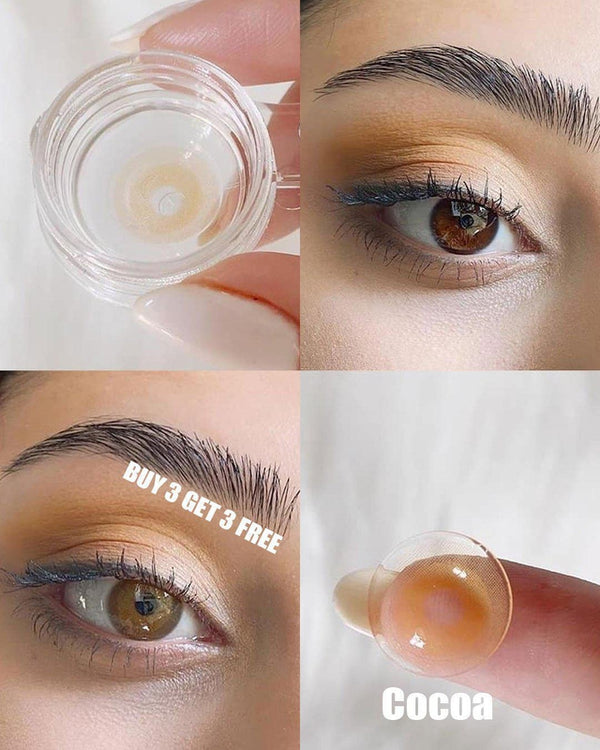 Barbie Cocoa (12 Month) Contact Lenses