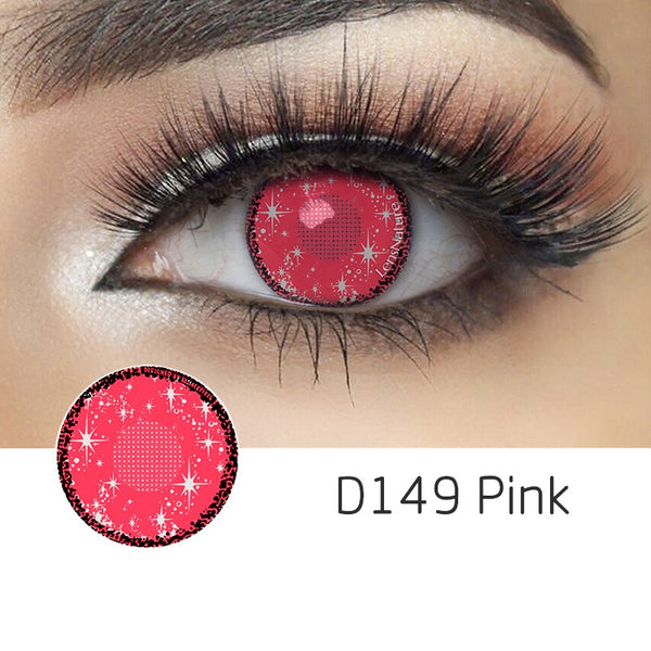 Midsummer Pink (12 Month) Contact Lenses