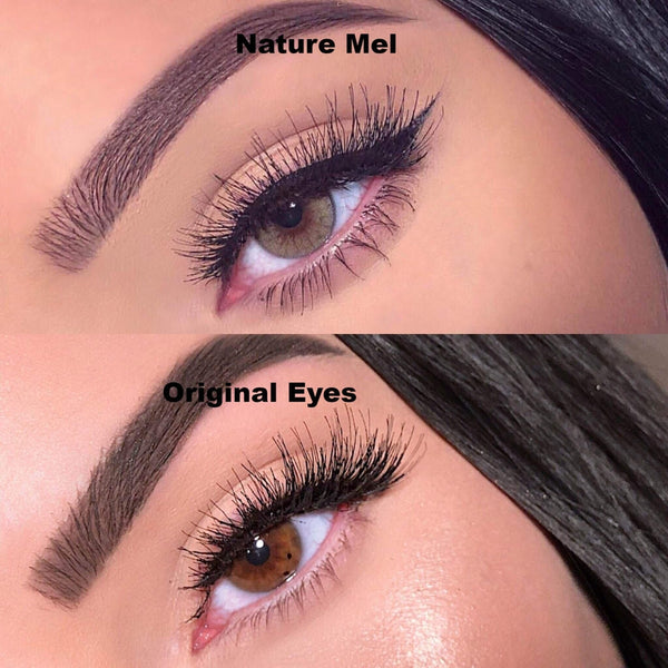 Nature Mel (12 Month) Contact Lenses - StunningLens