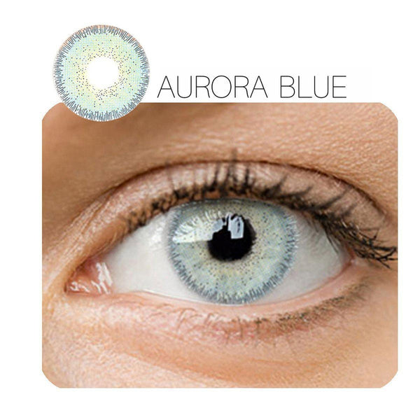 Aurora 4 Colors (12 Month) Contact Lenses - StunningLens