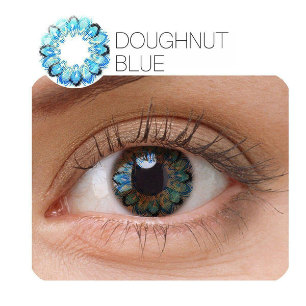 Doughtnut Prescription 3 Colors 1 Piece (12 Month) Contact Lenses - StunningLens