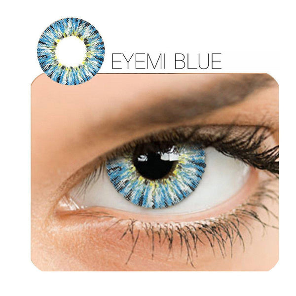 Eyemi 4 Colors 14.5mm 1 Pair (12 Month) Contact Lenses