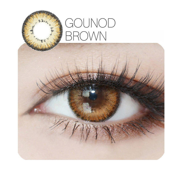 Gounod 4 Colors (12 Month) Contact Lenses - StunningLens