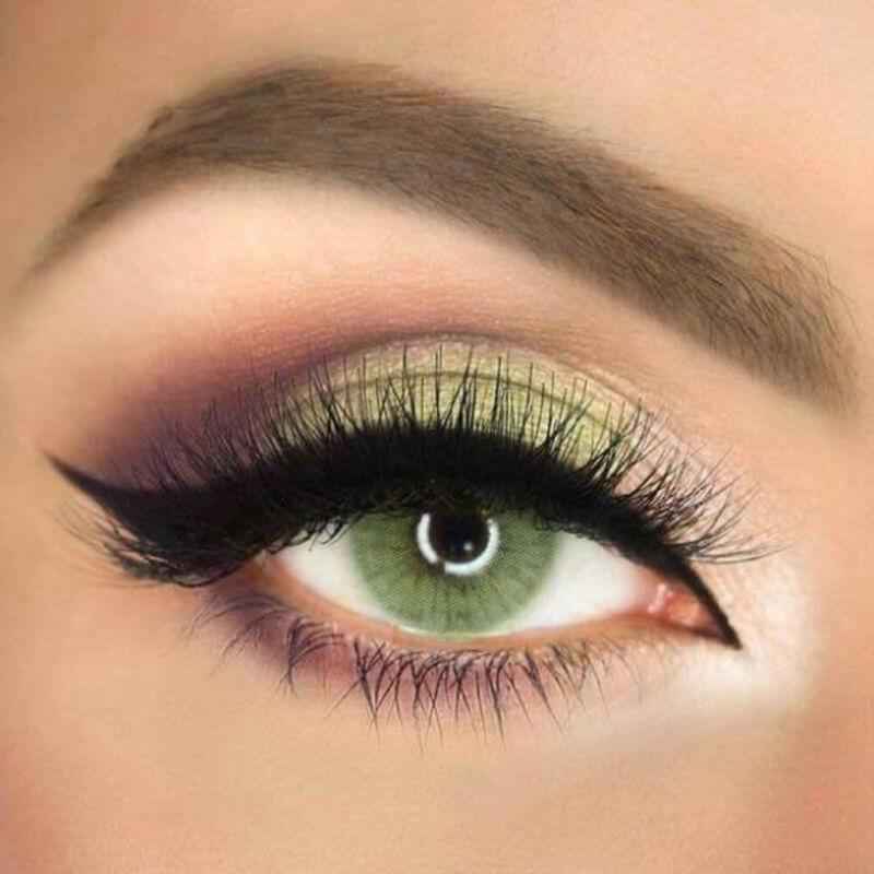 Super Naturals Icy Green Yearly Colored Contacts