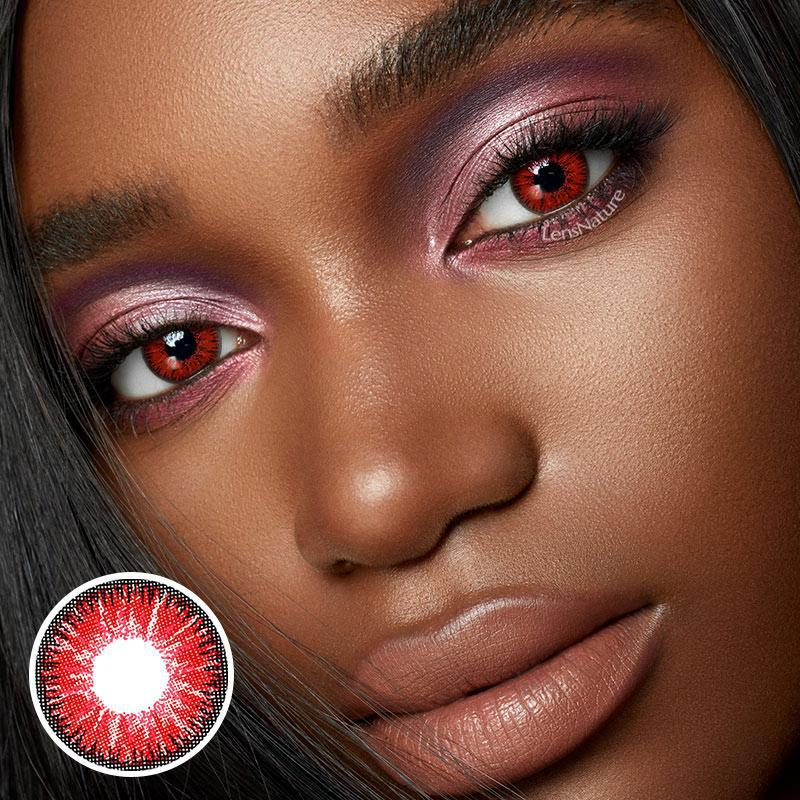 Radiance Red (12 Month) Contact Lenses