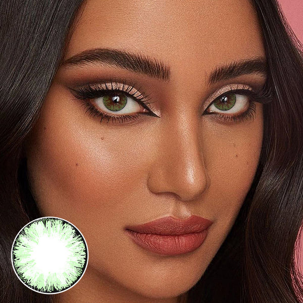 Glitter Green (12 Month) Contact Lenses