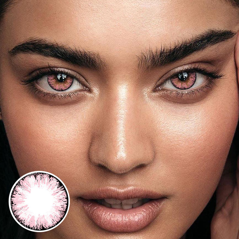 Glitter Pink (12 Month) Contact Lenses