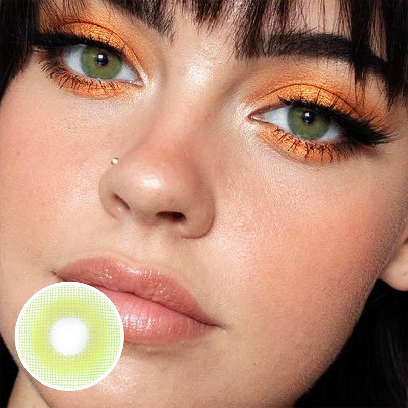 Pixie Green (12 Month) Contact Lenses