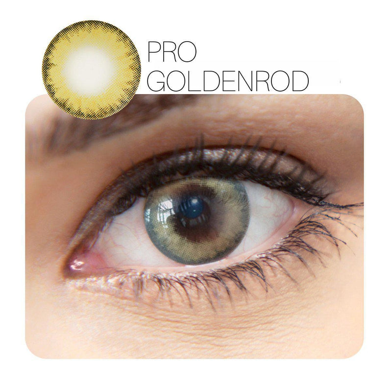 Pro Prescription Golden Rod (12 Month) Contact Lenses - StunningLens