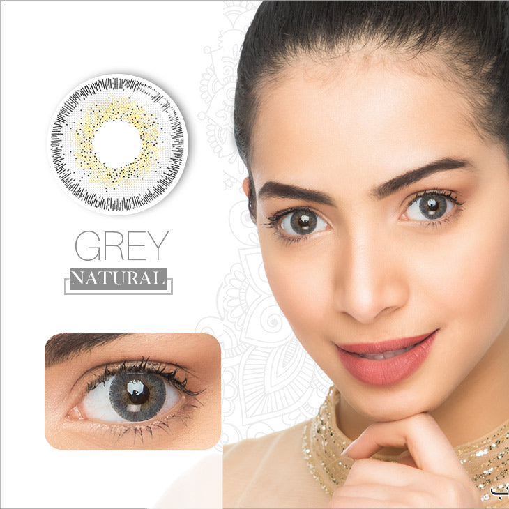 Natural 3 Colors (12 Month) Contact Lenses - StunningLens