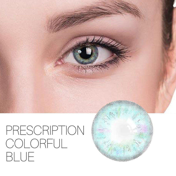 Colorful Prescription 4 Colors 14.0mm 1 Pair (12 Month) Contact Lenses