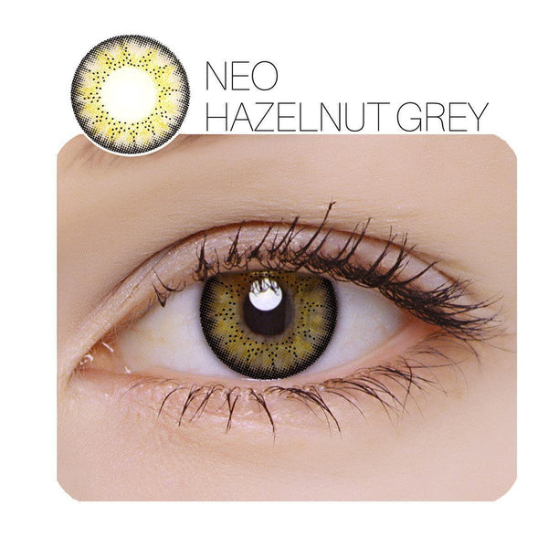 NEO Hazelnut Prescription (6 Month) Contact Lenses - StunningLens