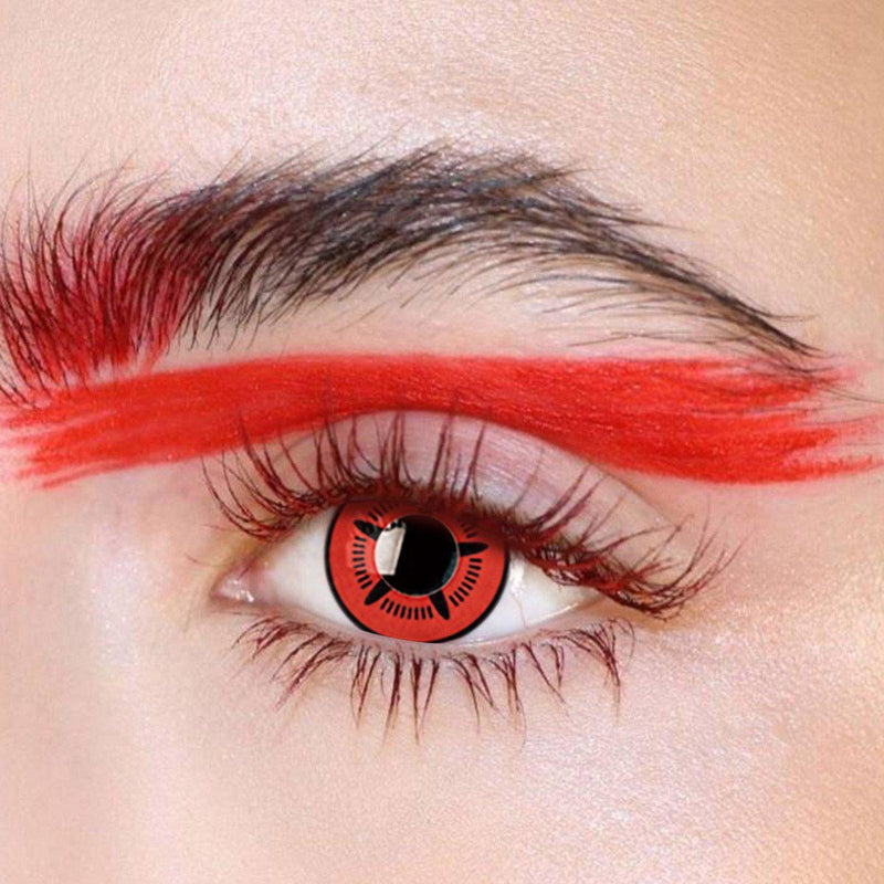 Starfish Cosplay Red (12 Month) Contact Lenses - StunningLens