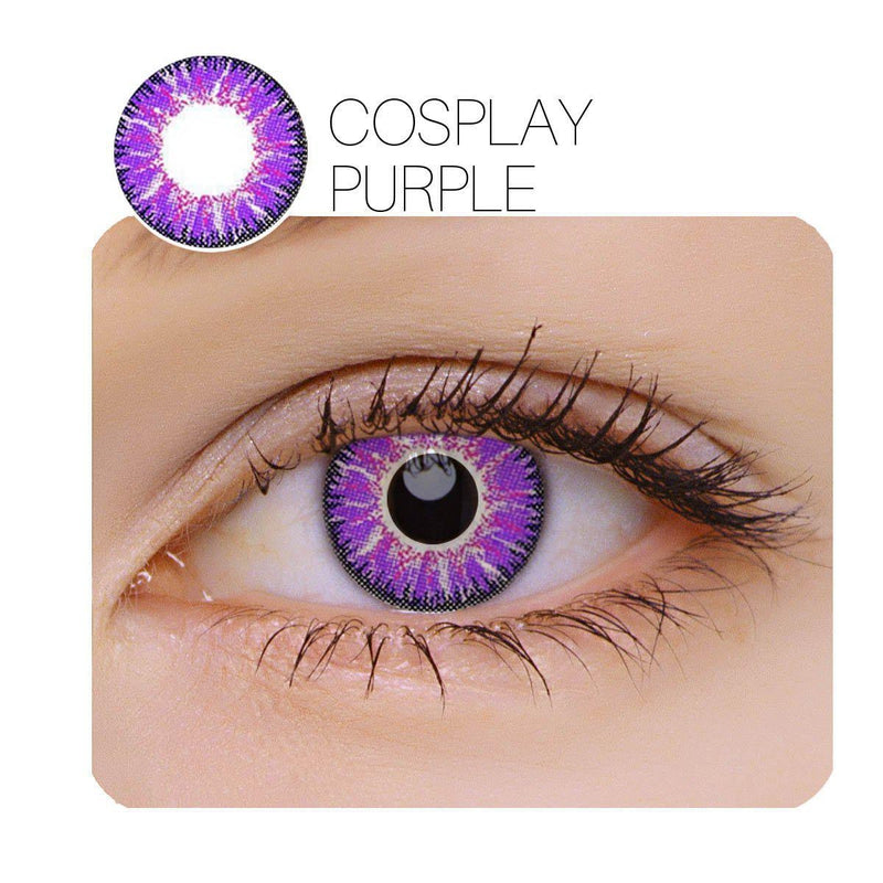 Vicka Cosplay 2 Colors (12 Month) Contact Lenses - LensNature