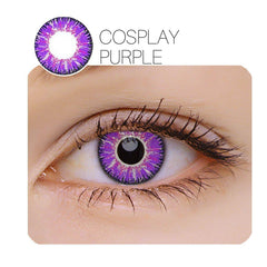 Vicka Cosplay 7 Colors 14.5mm 1 Pair (12 Month) Contact Lenses