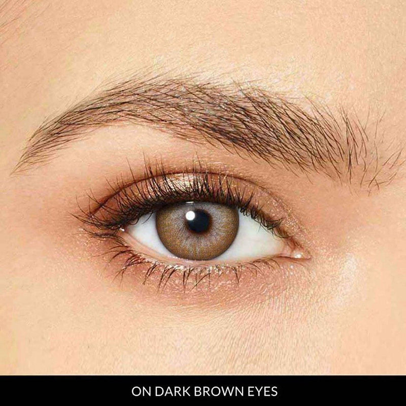 Chicview Brown Prescription (1 Month) Contact Lenses - StunningLens