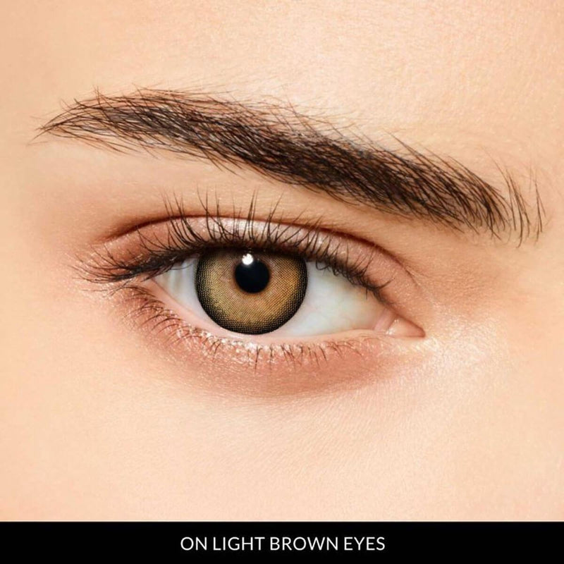 Goddess Brown Prescription (12 Month) Contact Lenses - StunningLens