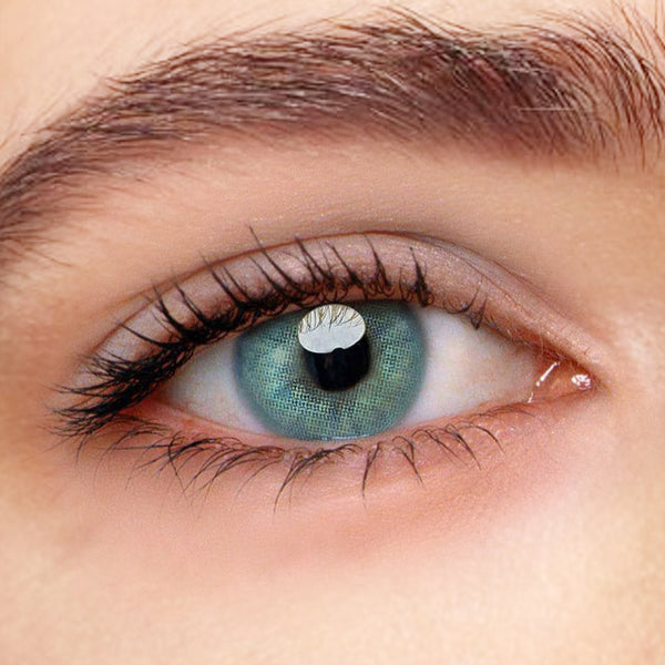 Polar Lights Blue Prescription (12 Month) Contact Lenses - StunningLens