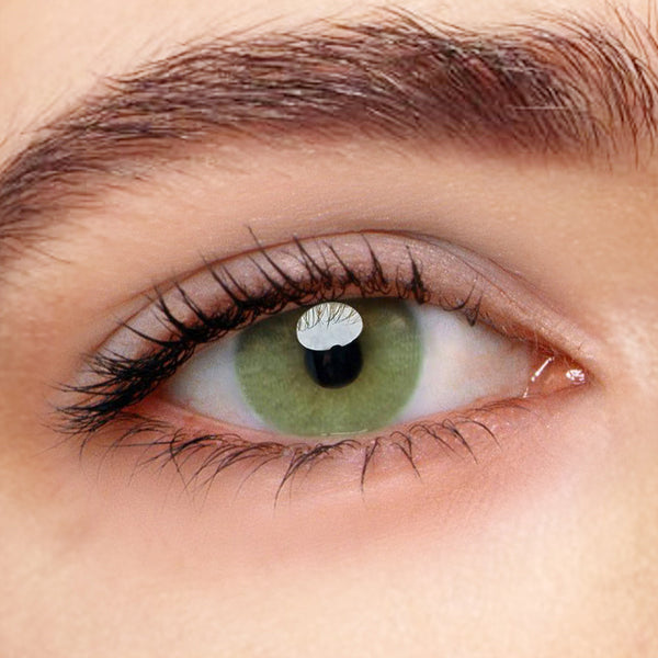 Polar Lights Yellow Green Prescription (12 Month) Contact Lenses - StunningLens