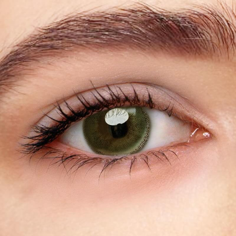 Edge Green Prescription (12 Month) Contact Lenses - StunningLens