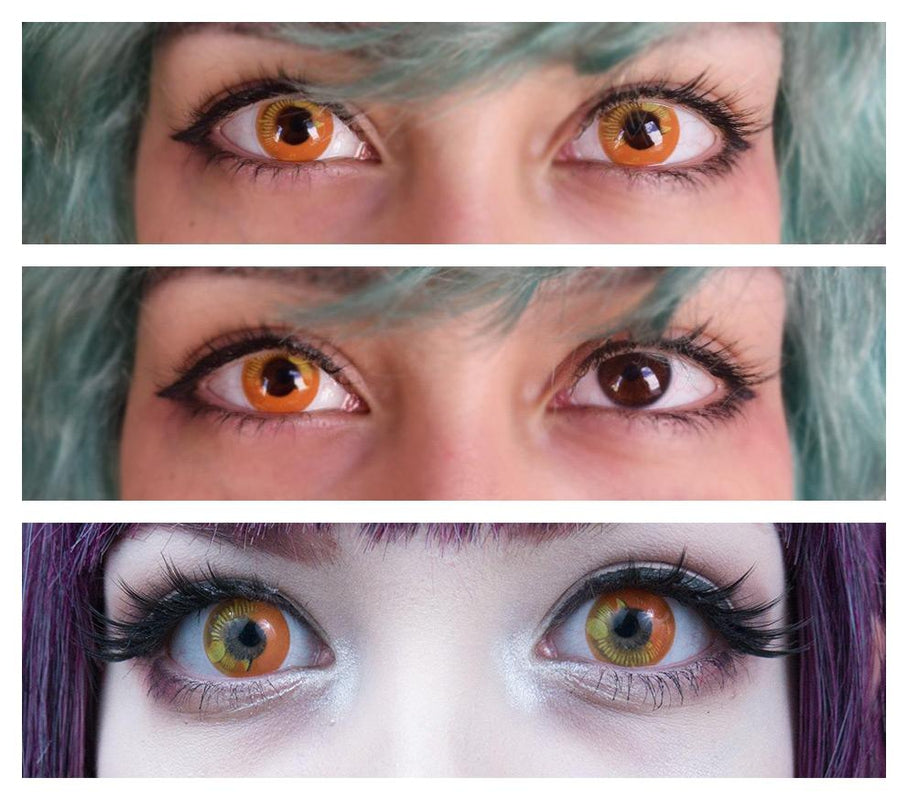 Coscon Orange (12 Month) Contact Lenses - StunningLens