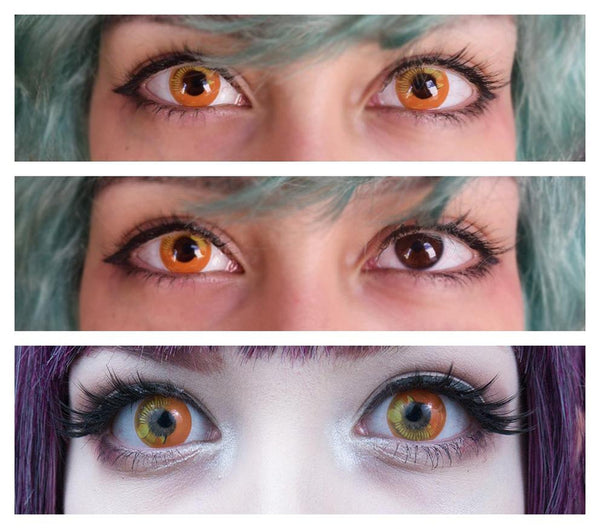 Coscon Orange (12 Month) Contact Lenses
