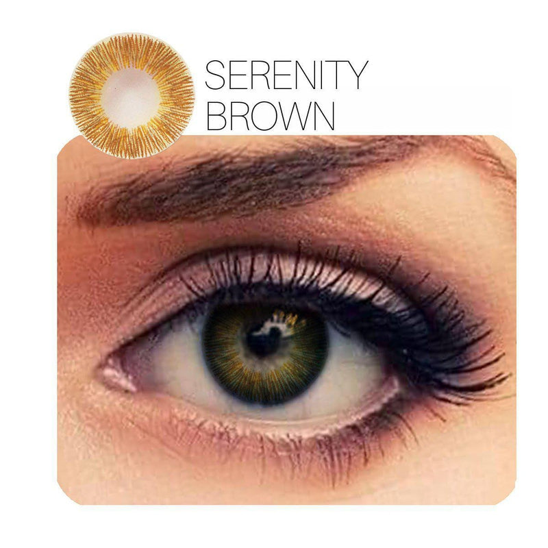 Serenity 8 Colors (12 Month) Contact Lenses - StunningLens