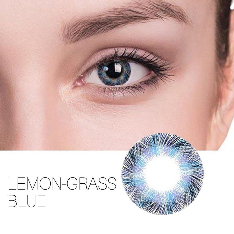 Lemon-Grass 6 Colors (12 Month) Contact Lenses - StunningLens