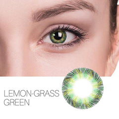 Lemon-Grass 8 Colors 14.5mm 1 Pair (12 Month) Contact Lenses