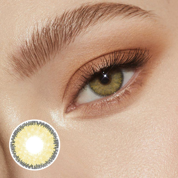 Premium Hazel Prescription (12 Month) Contact Lenses - StunningLens