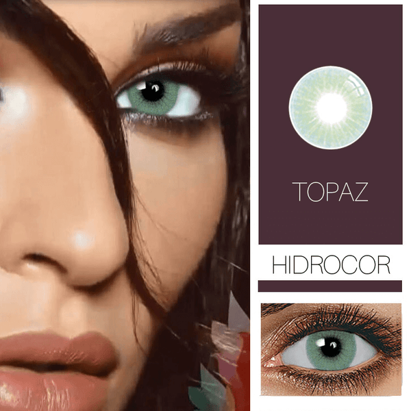 Hidrocor Prescription 5 Colors (12 Month) Contact Lenses - StunningLens