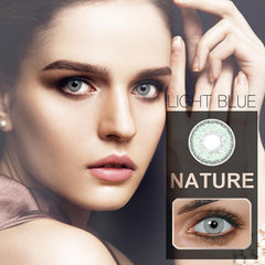 Nature 6 Colors 14.2mm 1 Pair (12 Month) Contact Lenses