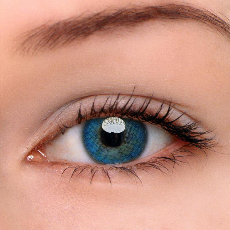 Egypt Blue Prescription (12 Month) Contact Lenses - StunningLens