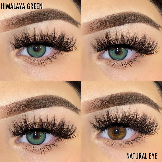 Himalayan Green (12 Month) Contact Lenses