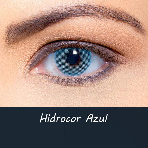 Hidrocor Azul (12 Month) Contact Lenses - StunningLens
