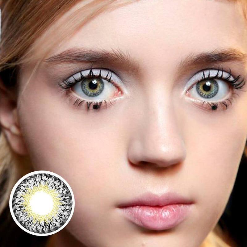 Forest Swan (12 Month) Contact Lenses - StunningLens