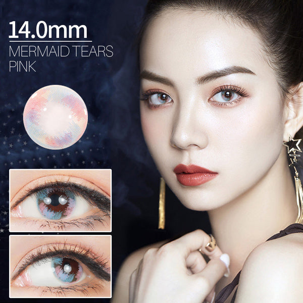 Mermaid Tears Prescription 14.0mm 1 Piece (12 Month) Contact Lenses
