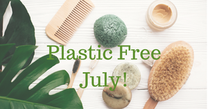 Plastic Free July Beauty Blog