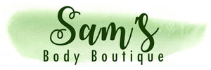 Vegan skincare products made in the UK by Sam's Body Boutique