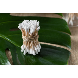 sustainable Bamboo cotton buds