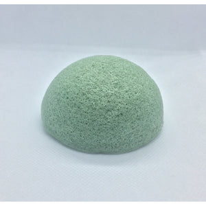 green konjac sponge, sustainable facial sponge