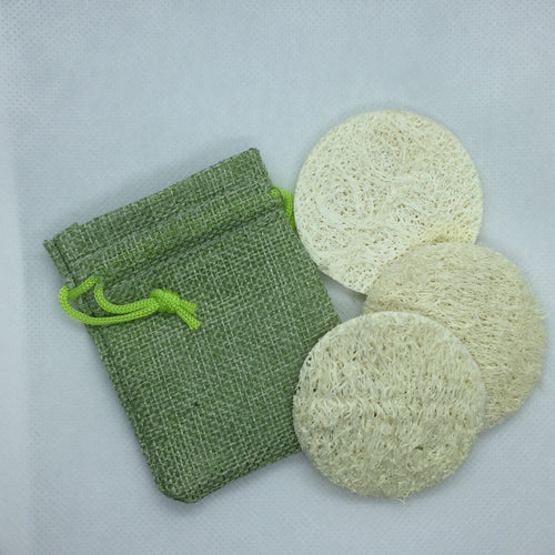 Loofah Pads (3 Pack)